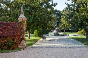 Garden of the villa
