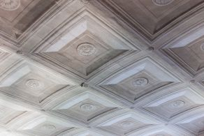 Original decorated ceiling
