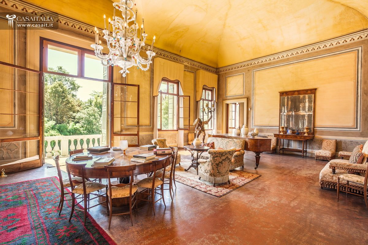 historic venetian style villa for sale