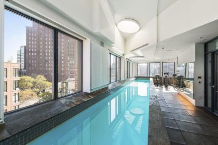 Luxury property with private swimming pool for sale in Tribeca – Manhattan
