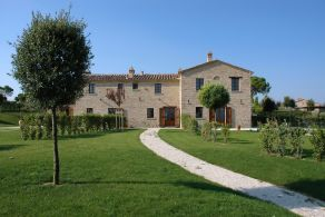 Apartments for sale in a complex in Tuscany