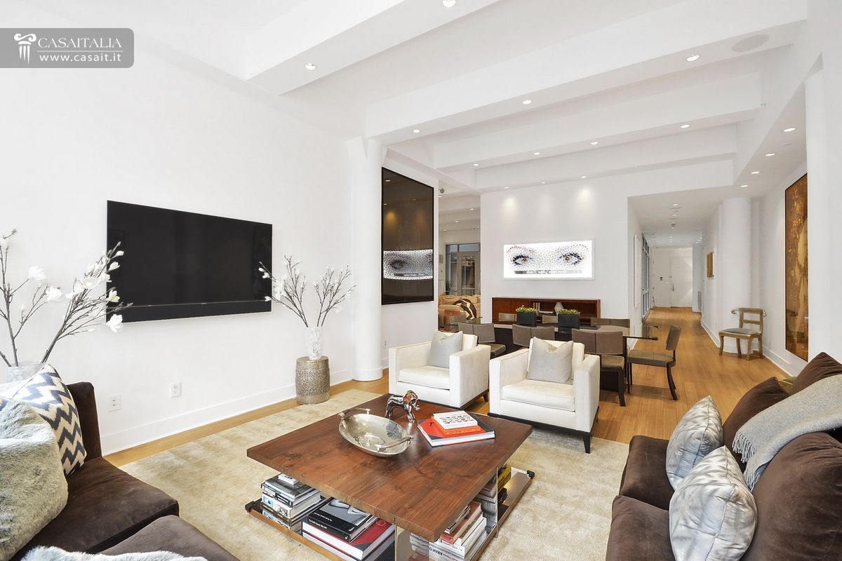 Luxury apartment for sale in tribeca manhattan for Foto di appartamenti ristrutturati
