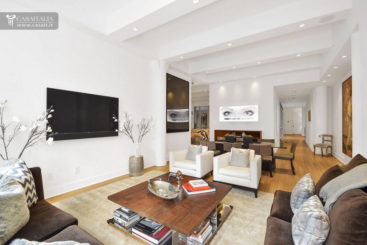 Luxury apartment for sale in tribeca manhattan for Interni appartamenti di lusso