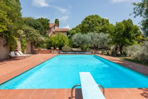 Villa with garden and olive grove, for sale in Terni