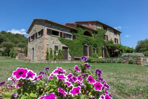 Farmhouse for sale in the Valle del Niccone, Umbria