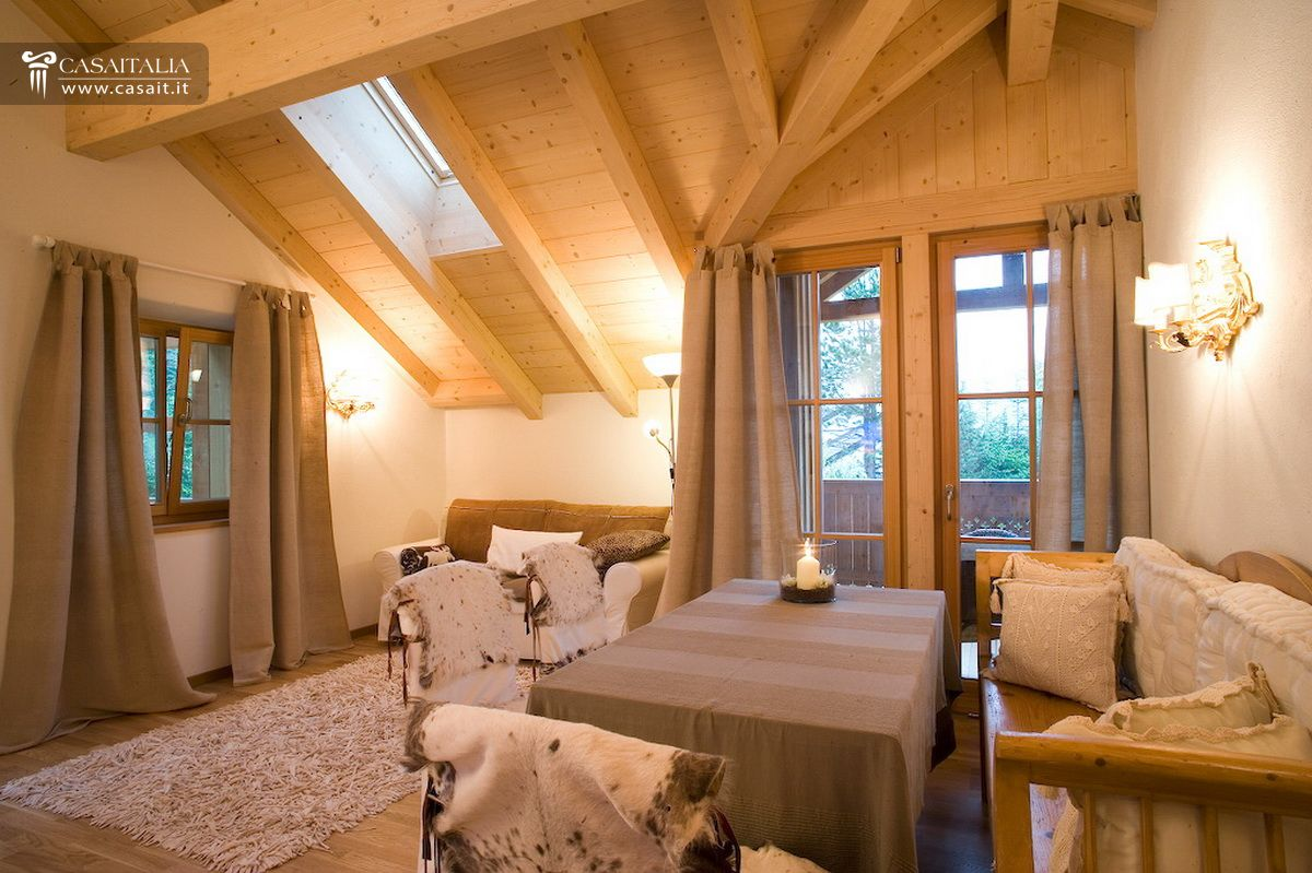 Traditional chalet with one hectare of land for sale in for Hotel luxury for sale