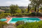 Farmhouse with swimming pool for sale in the Crete Senesi, Tuscany