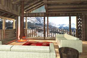 Newly built chalet for sale in Corvara in Badia, Dolomites