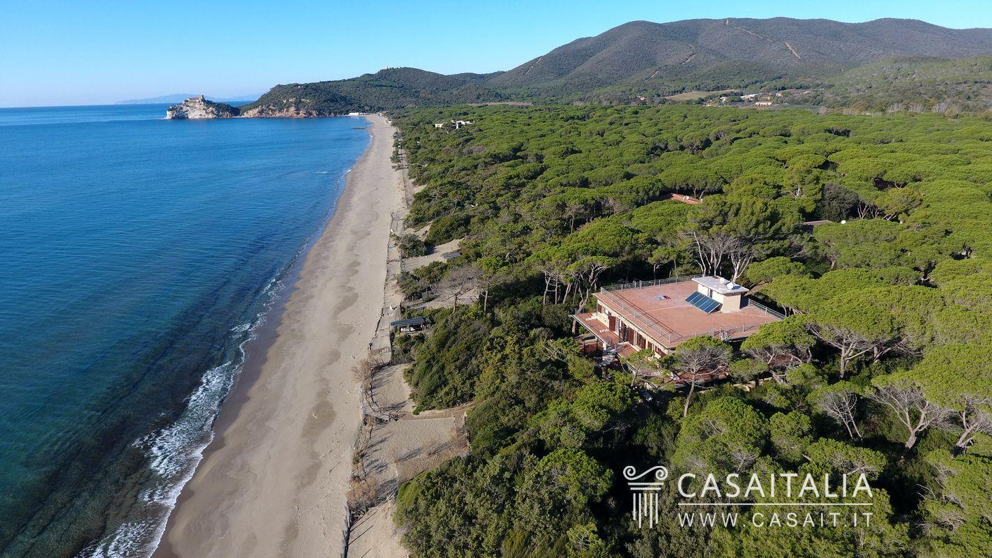 Seafront Villa For Sale In Roccamare