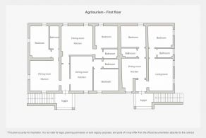 Agritourism - First floor