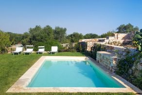 Trullo with pool for sale in Ostuni, Apulia