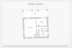 Farmhouse 1 - Ground floor