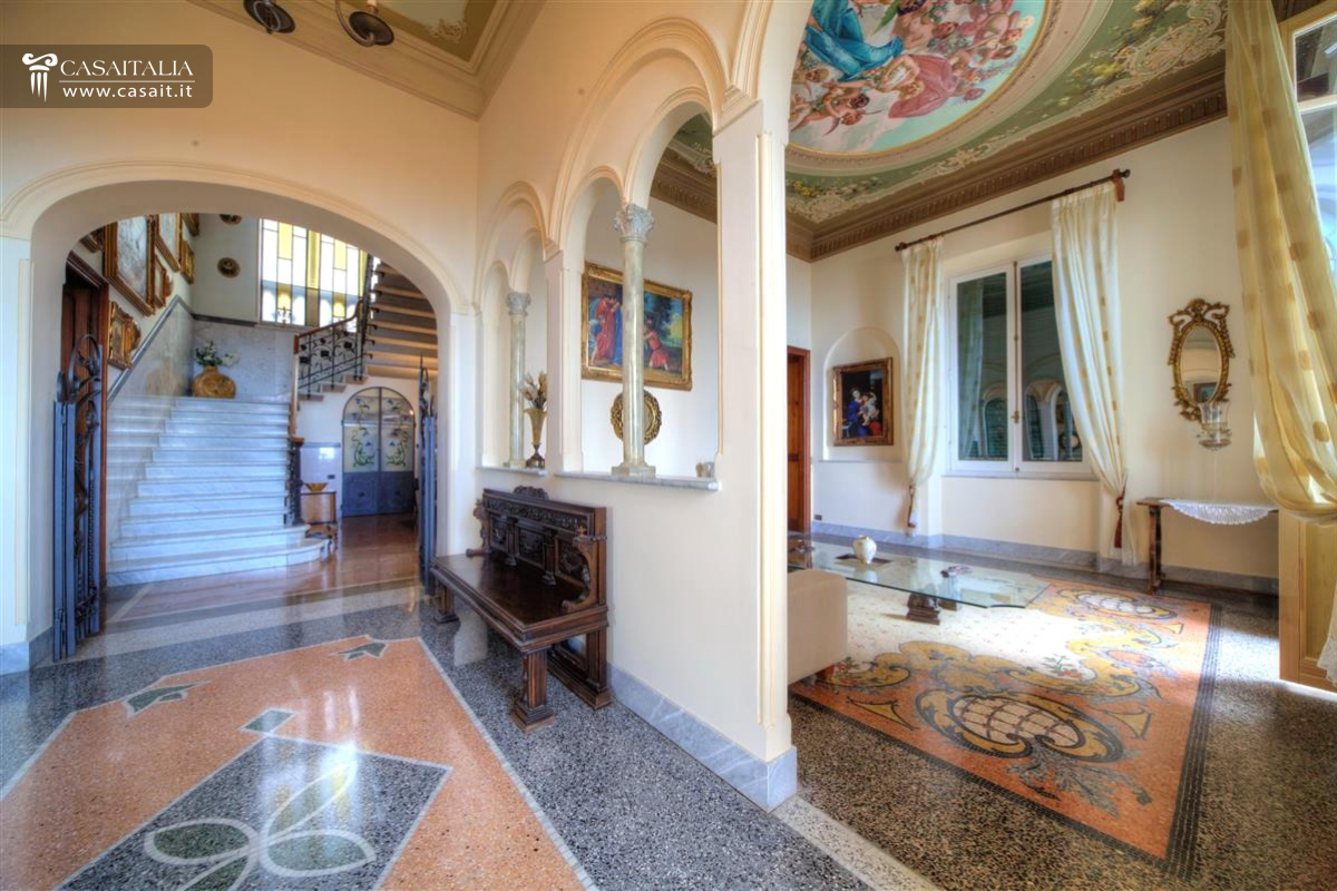 Camogli luxury villa with sea view for Immagini di interni di case